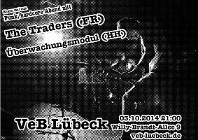 Punk / HC im VeB / Lübeck am 3.10.2014