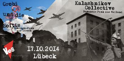 Postpunk im VeB / Lübeck am 17.10.2014