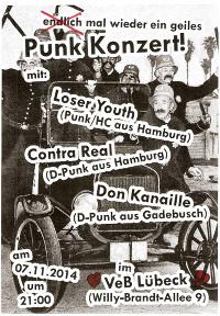 Punk im VeB / Lübeck am 7.11.2014