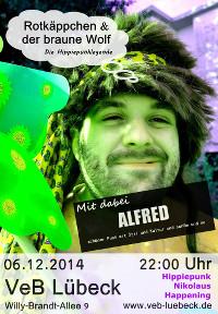 Punk im VeB / Lübeck am 6.12.2014