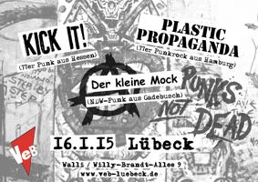 Punkrock im VeB Lübeck