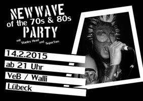 New Wave-Party im VeB Lübeck