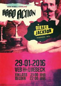 Garage/Rock im Veb Lübeck am 29.1.16