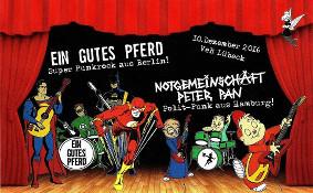 Punk im VeB Lübeck am 10.12.16