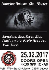 Lübecker Reggae - Ska - Nighter im VeB Lübeck am 25.2.17