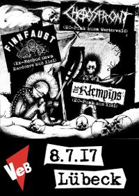 HC-Punk live im VeB Lübeck am 8.7.17