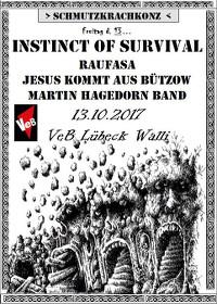 SCHMUTZKRACHKONZ live im VeB Lübeck am 13.10.17