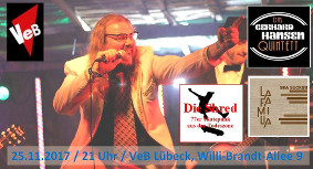 Schlagerpunk, Skapunk, 77erPunk live im VeB Lübeck am 25.11.17