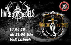 Oi!-Punk im VeB Lübeck am 14.04.18