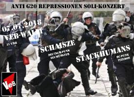 Anti-G20-Repressionen-Konzert im VeB Lübeck am 7.7.18