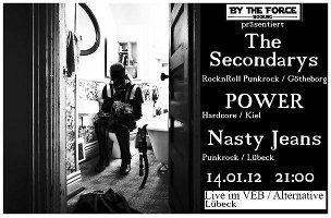 Punk-Konzert im VeB / Lübeck am 14.01.2012