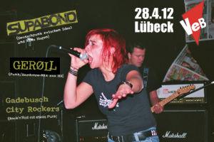 Punk-Konzert im VeB / Lübeck am 28.04.2012