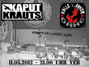 Punk-Konzert im VeB / Lübeck am 11.05.2012