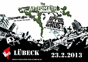 HC-Punk im VeB / Lübeck am 23.2.2013