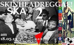 Party: Skinheadreggae, Ska & 2Tone im VeB / Lübeck am 18.5.2013