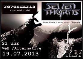 Power-Metal live im VeB / Lübeck am 17.9.2013