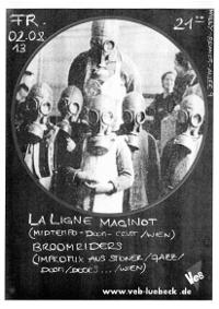La Ligne Maginot und Broomriders live im VeB / Lübeck am 2.8.2013