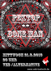 Boneman und Pektop live im VeB / Lübeck am 21.8.2013