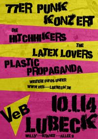 77er-Punk im VeB / Lübeck am 10.1.2014