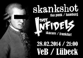 Ska-Punk im VeB / Lübeck am 28.2.2014