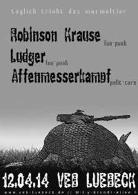 Punk im VeB / Lübeck am 12.4.2014