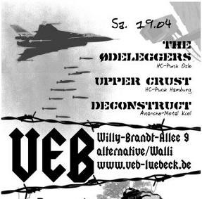 Punk im VeB / Lübeck am 19.4.2014