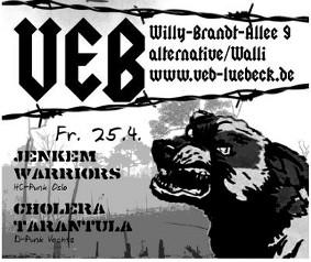Punk im VeB / Lübeck am 25.4.2014
