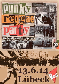 Punky*Reggae*Party  im VeB / Lübeck am 13.6.2014