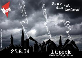 Punk im VeB / Lübeck am 23.8.2014