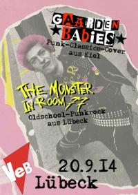 Punkrock im VeB / Lübeck am 20.9.2014