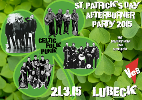 Celtic-Folk-Punk-Party im VeB Lübeck