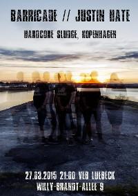 Hardcore-Sludge am 27.3.15 im VeB Lübeck
