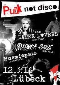 Punkrock im Veb Lübeck am 12.3.16