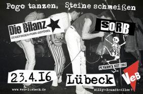 Deutschpunk im Veb Lübeck am 23.4.16