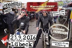 Deutschpunk live im VeB, Lübeck am 23.9.16