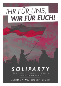 Soliparty im VeB Lübeck am 4.8.17