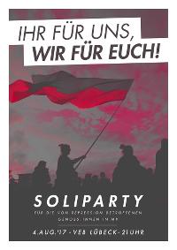 Soliparty im VeB Lübeck am 4.8.17