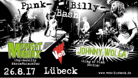 Johnny Wolga + Midnight Maniax im VeB Lübeck am 26.8.17