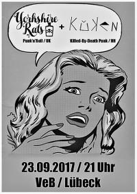 Punkrock im VeB Lübeck am 23.9.17