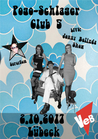 Pogo-Schlager-Club & Johnny Belinda Show im VeB Lübeck am 2.10.17