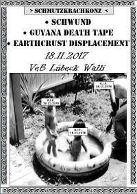 SCHMUTZKRACHKONZ live im VeB Lübeck am 18.11.17