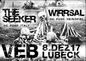HC-Punk im VeB Lübeck am 8.12.17
